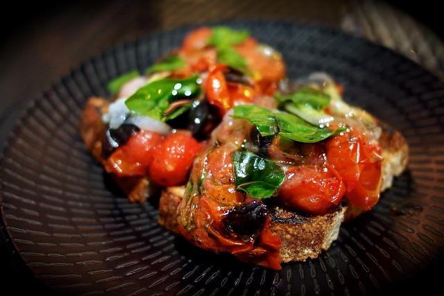 Toast, Tomatoes, and Lardo. Burnt Ends, 20 Teck Lim Road, Singapore