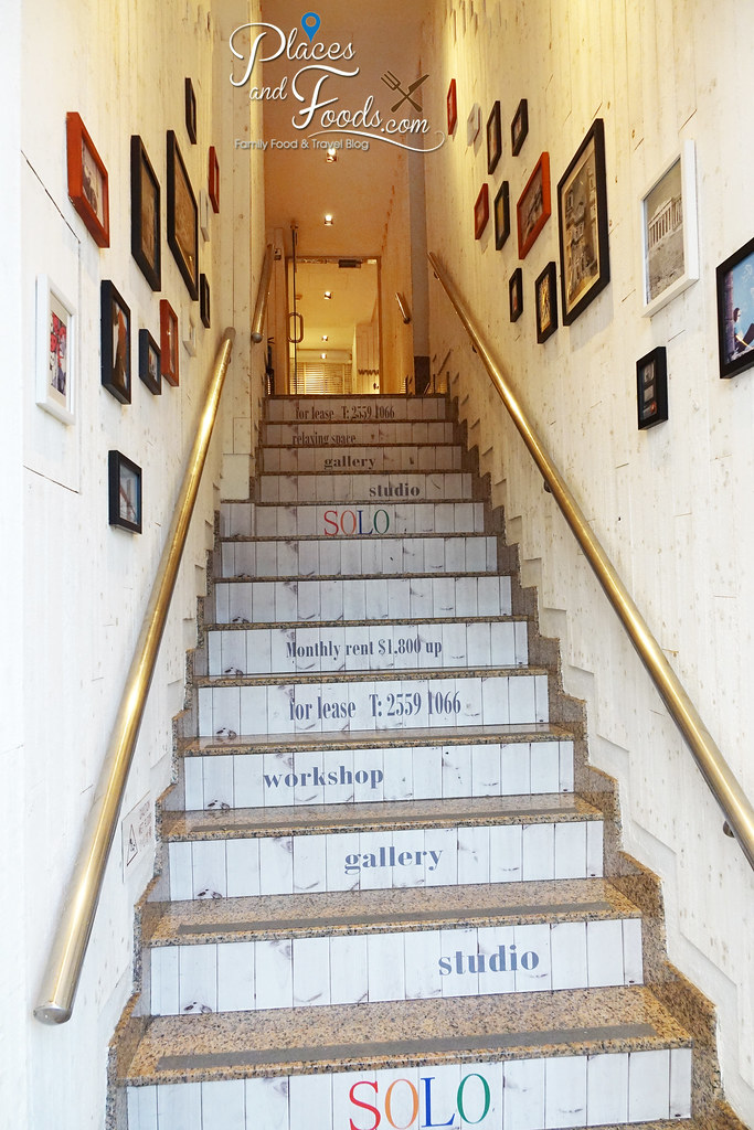 apple dorm sai wan entrance staircase