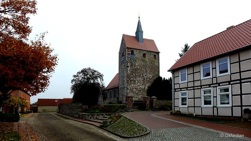 Estedt - fortress church