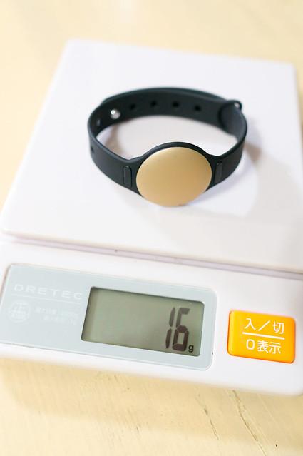 Misfit Shine、腕時計スタイル時の重さは16グラム