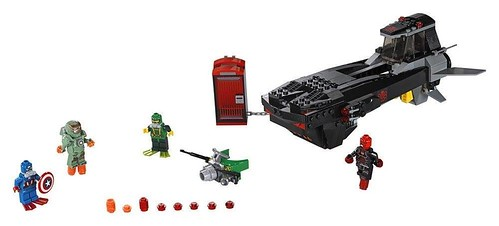 LEGO Marvel Super Heroes Iron Skull Sub Attack (76048)