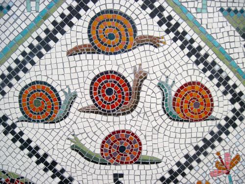Mosaic at West Hackney Recreation Ground