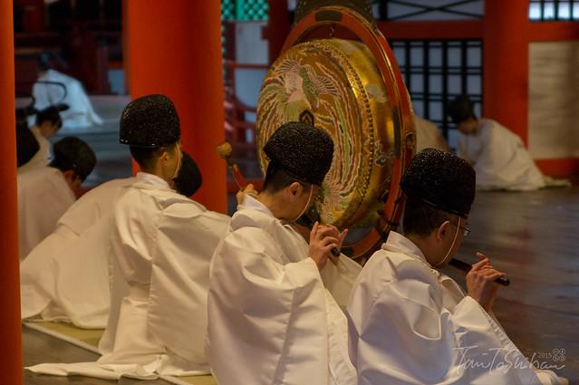 厳島神社 天長祭 舞楽奉奏