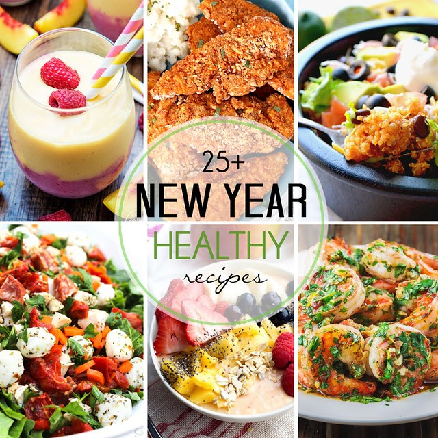 Start the New Year off on the right foot with these 25+ healthier recipes from your favorite bloggers!