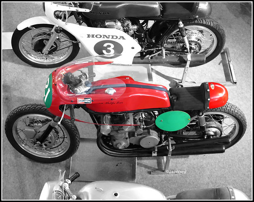 The Ron Philips Four 249cc racing motorcycle