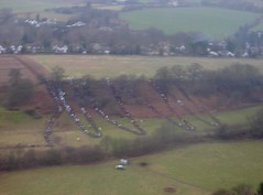 The Slalom course (Taken by Jess on her helicopter flight) Image