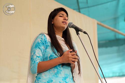 Devotional song by Sonam from Avtar Enclave, Delhi