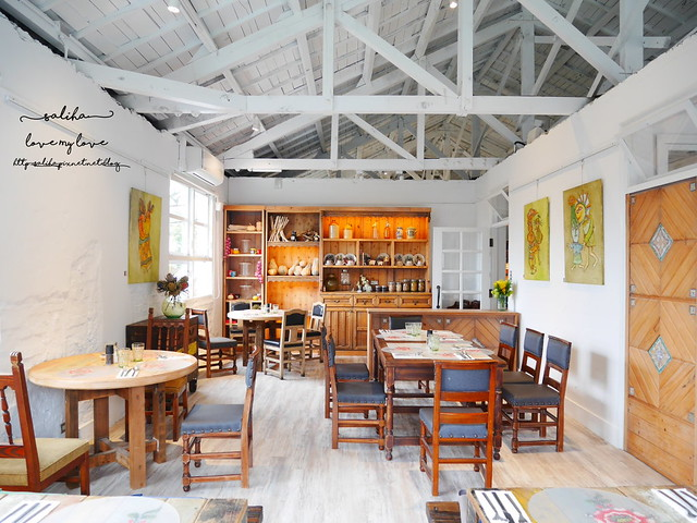 陽明山美軍宿舍不限時餐廳推薦白房子Yang Ming Cafe