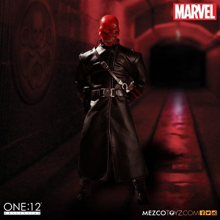 MEZCO – ONE:12 COLLECTIVE 系列【紅骷髏】MARVEL Red Skull