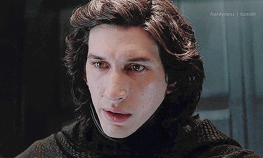 """""""Daddy, I like Kylo Ren's hair. It's really nice. Especially the blonde bits."""""""