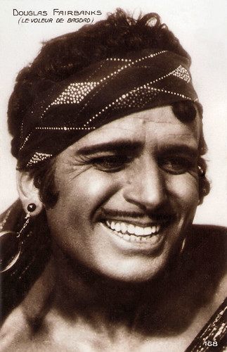 Douglas Fairbanks in The Thief of Bagdad (1924)