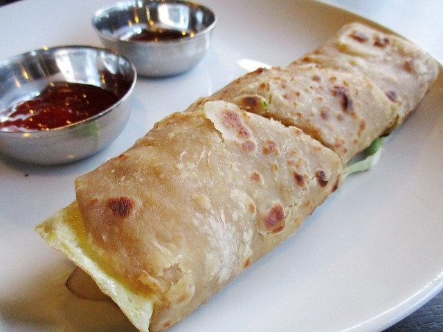 Cafe Ind chicken egg roll 1