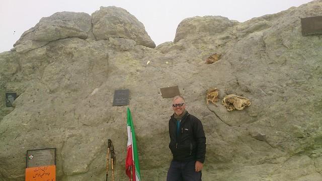 Damavand summit (5,611m), Iran
