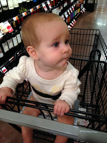 First Time in a Shopping Cart