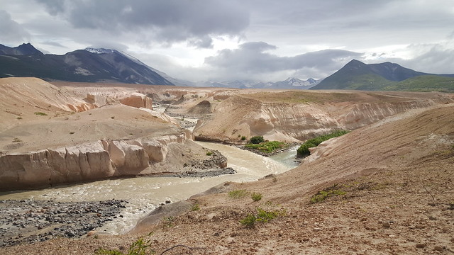 Built-up ash in the Valley of Ten Thousand Smokes