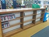 PS2, PS3, and Wii games are on this side of the shelves. (Where audio books used to be).