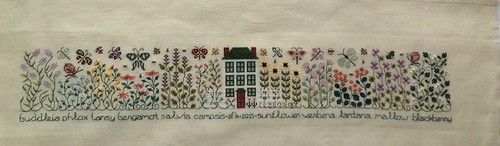 Butterfly Garden by The Drawn Thread Complete!