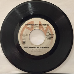THE BROTHERS JOHNSON:STRAWBERRY LETTER 23(RECORD SIDE-A)