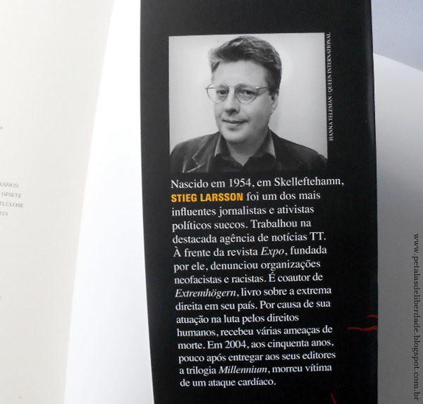 Resenha, livro, Os homens que não amavam as mulheres, Stieg Larsson, Companhia das Letras, editora, trilogia, Millennium, Lisbeth