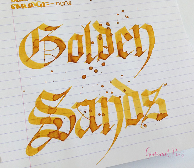 Ink Shot Review Diamine Golden Sands (7)