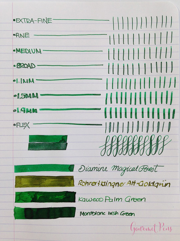 Ink Shot Review Diamine Magical Forest (3)