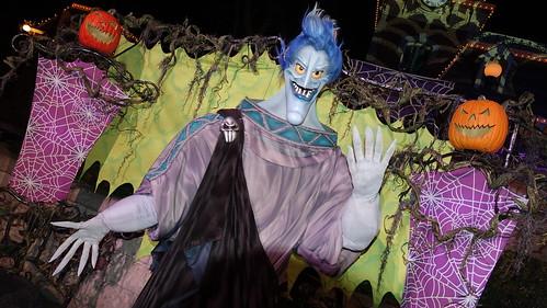 Hades at Disneyland Halloween Party