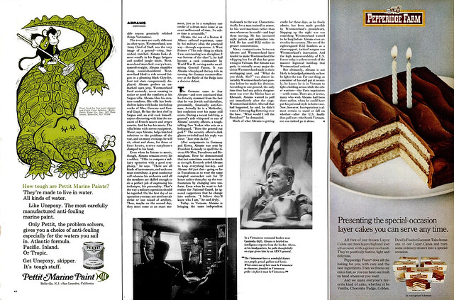LIFE Magazine April 25, 1969 (3) - GENERAL CREIGHTON ABRAMS
