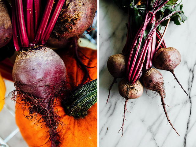 Beets from the patch