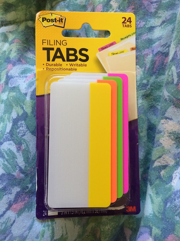Bought these at target to mark my stuff in case I lose any more things.