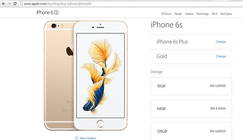 iphone6s plus prices