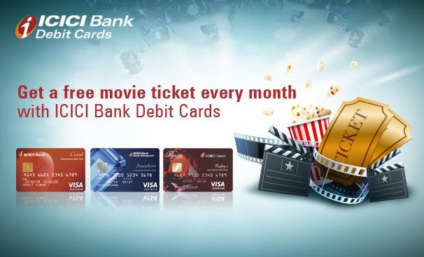 INOX Offer ICICI Debit Card Buy 1 Get 1