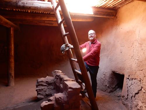 Pecos National Historical Park - in de kiva