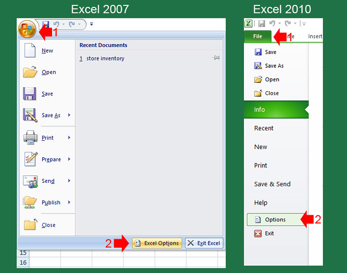 Automatic save workbook in excel 97-2003