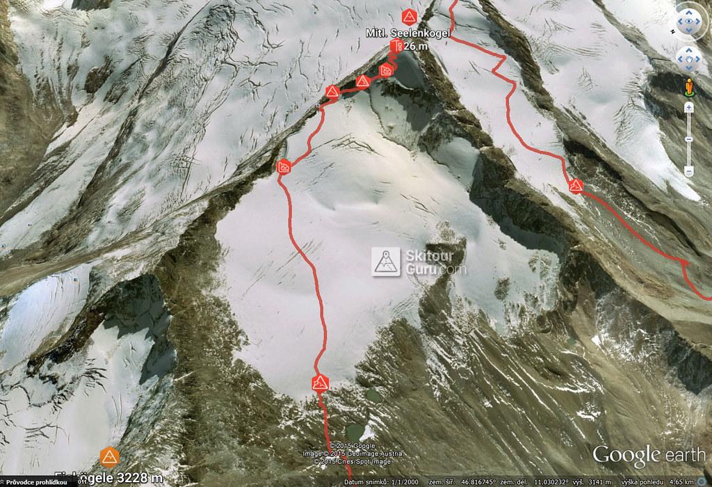 Mittlerer Seelenkogel Ötztaler Alpen / Alpi Venoste Österreich foto 22