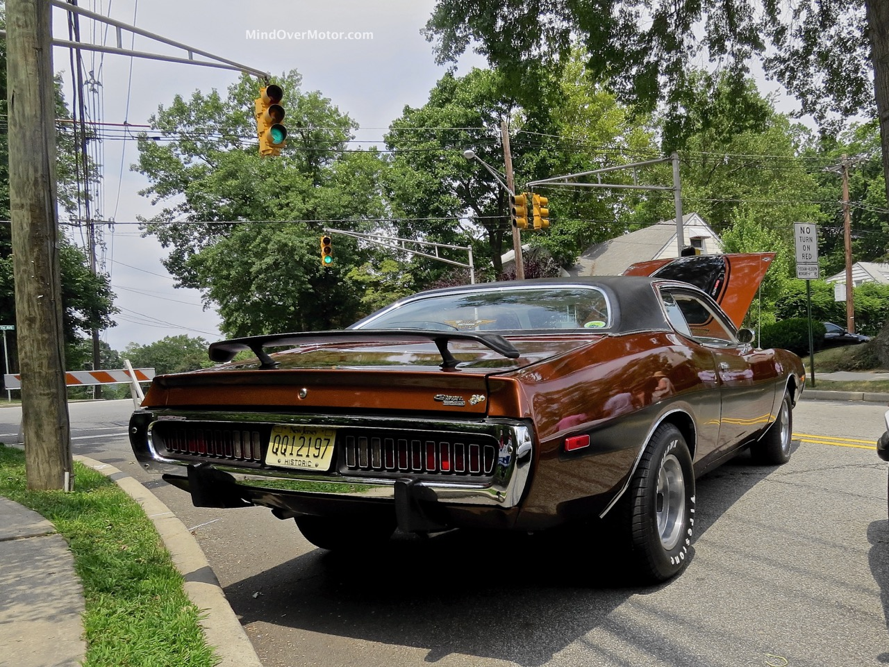 1974 Dodge Charger Rear 2
