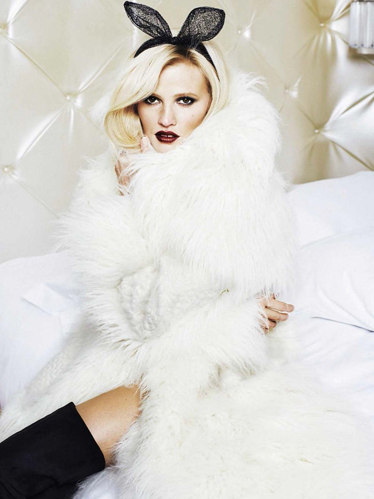 Лара Стоун — Фотосессия для «Glamour» ES 2015 – 6