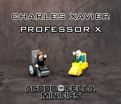 Charles Xavier [MARVEL STUDIOS] Professor X [Comics] [MOC]
