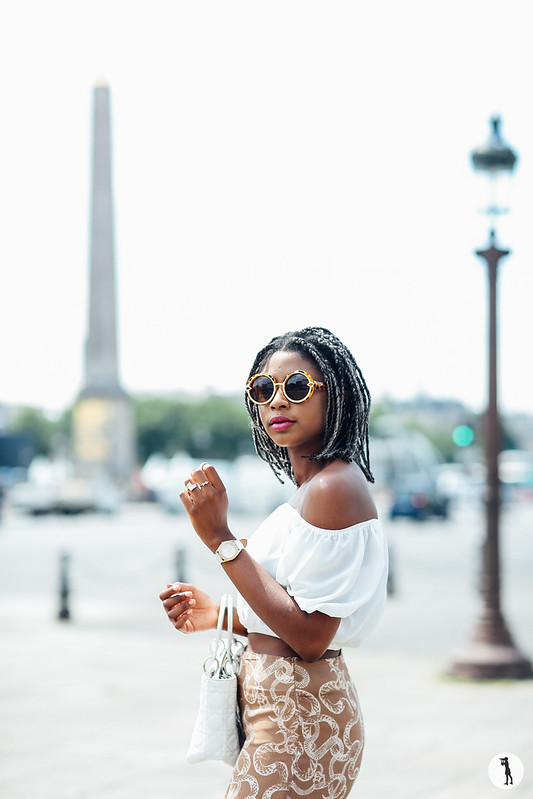 Street style Oriane, Paris