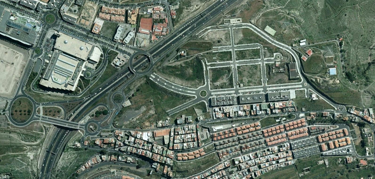 almatriche, las palmas, trichesoul, después, urbanismo, planeamiento, urbano, desastre, urbanístico, construcción, rotondas, carretera