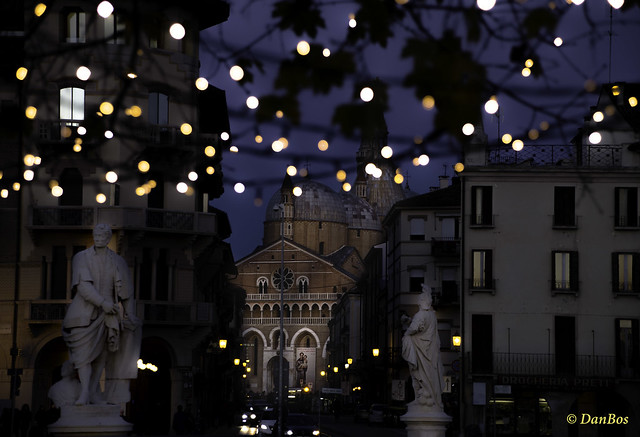 Padova - Saint Anthony Church on Christmans time
