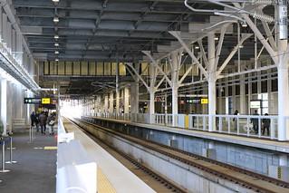 新函館北斗駅 11番線 新青森方を望む