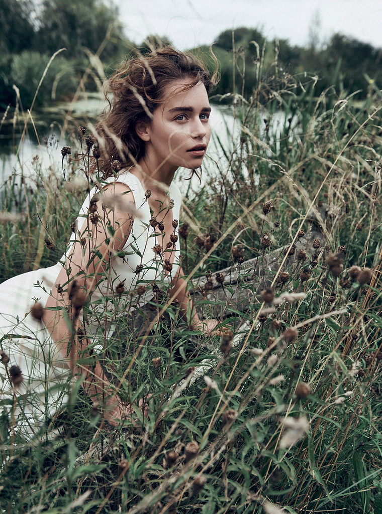 Эмилия Кларк — Фотосессия для «Dior» 2015 – 5