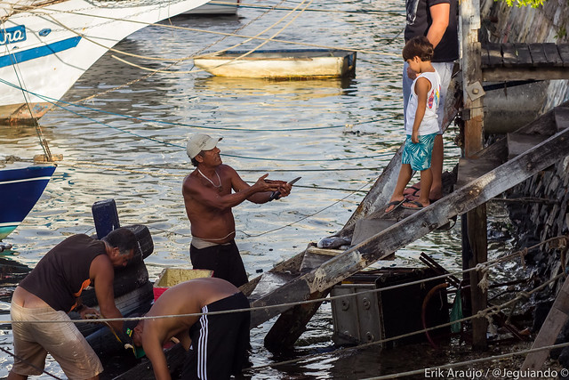 Fishermen at Ribeira / Salvador/BA