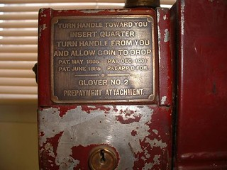 Coin-operated gas meter2