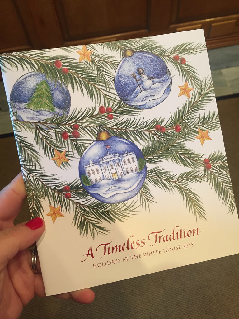 Booklet about Christmas at the White House