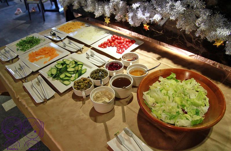 16 藝廊景觀餐廳 生菜沙拉