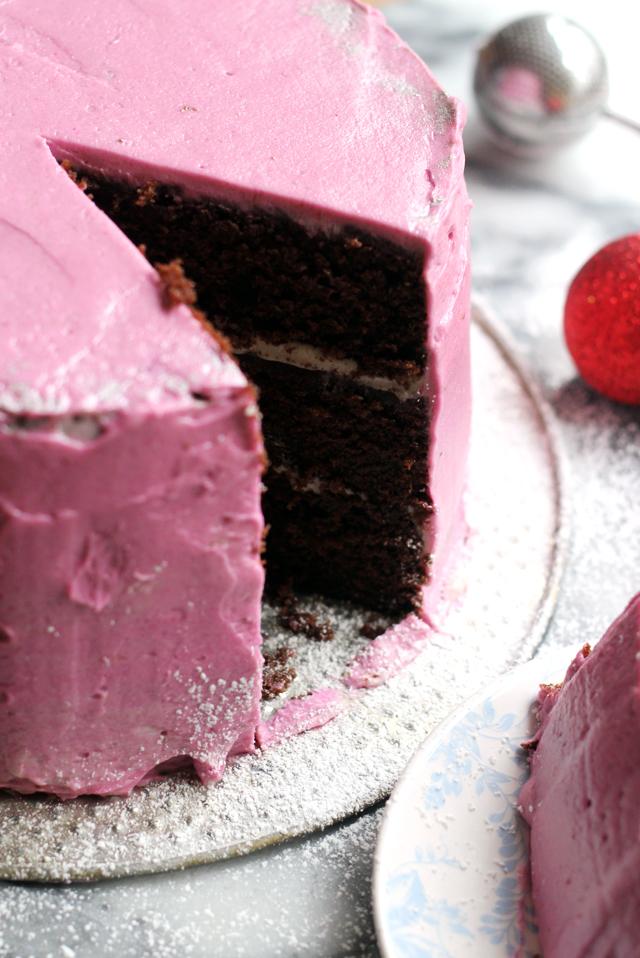 Wintermint Cake