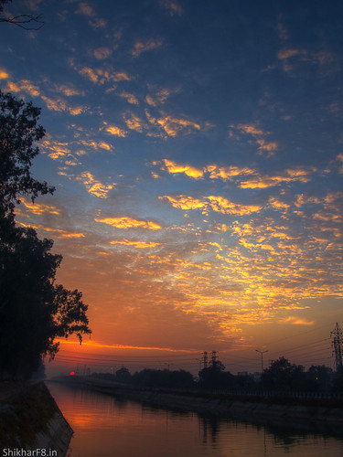 blue orange clouds sunrise nikon pointandshoot ludhiana p7800 shikharsharmaphotography nikoncoolpixp7800 shikharf8 shikharf8in shikharsharma