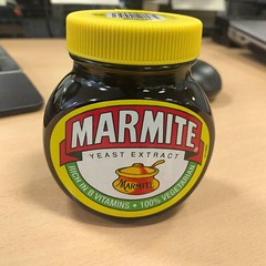My most useful bit of kit today...and I don't eat it. #marmitegate