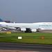 B-HUI 4 Boeing 747-467 Cathay Pacific Airways(Final Flight) MAN 31OCT16 by Ken Fielding